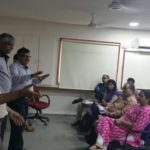 Meeting with parents and students